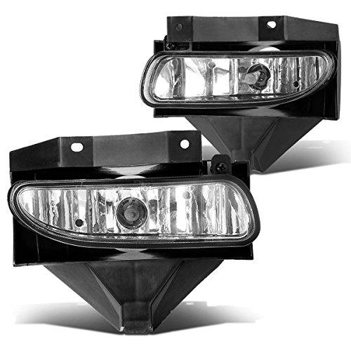 DNA Motoring FL-ZTL-115-CH Front Bumper Fog Light, Driver and Passenger Side