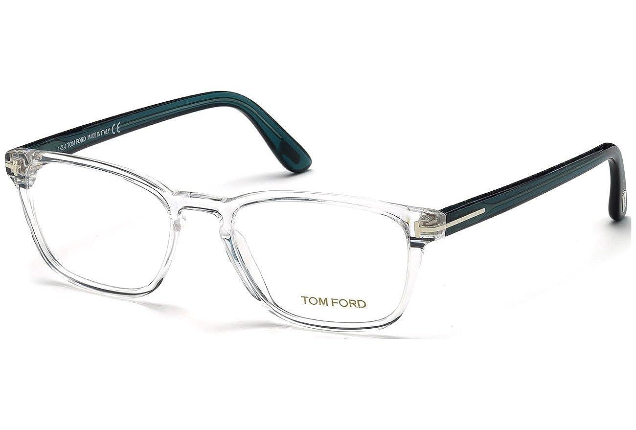 New Men Eyeglasses Tom Ford FT5355 026 B00ULQOFTK  Crystal