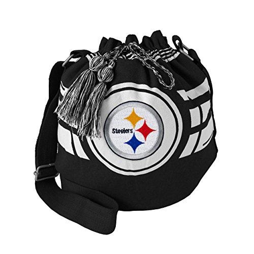 NFL Pittsburgh Steelers Ripple Drawstring Bucket Bag