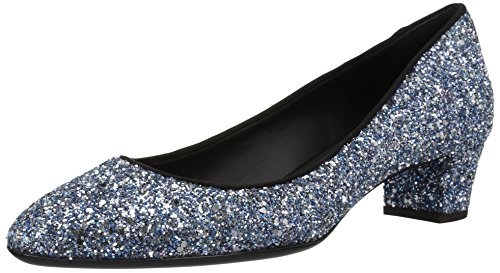 I760031 Giuseppe Pump Women's Blue Zanotti Dress Glitter 001gq