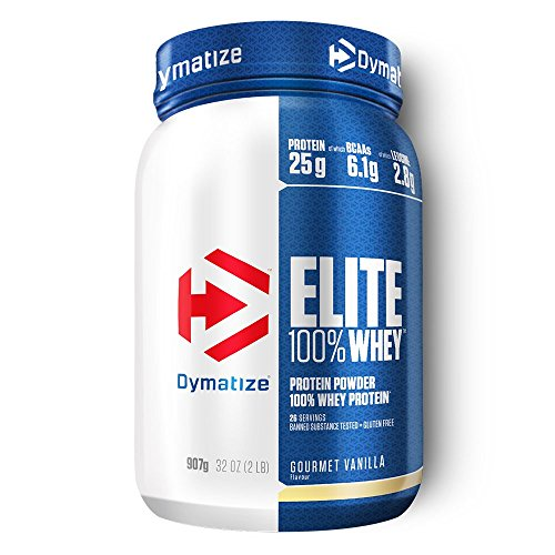 Dymatize Nutrition Elite 100% Whey Protein - Rich Chocolate 2 lbs (907 grams) Pwdr