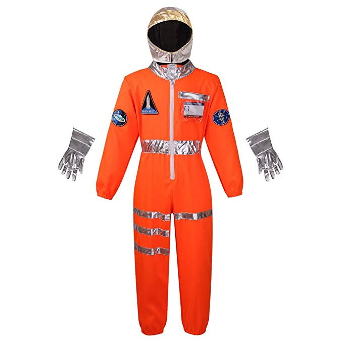 Amazon.com: Meeyou Disfraz de astronauta espacial para niños ...
