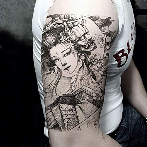 Zhuhuimin 5pcs- Medio Brazo Nuevas Pegatinas de Tatuaje Varios ...