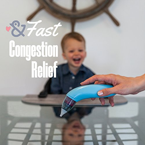 Care & Cradle Baby Nasal Aspirator Snot Sucker: Nose Cleaner for Infants, Babies and Kids