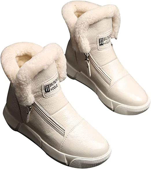 Botas de Nieve Zapatos de Mujer Botas de Invierno Zapatos de algodón Botas de algodón cálido Zapatos Deportivos al ...