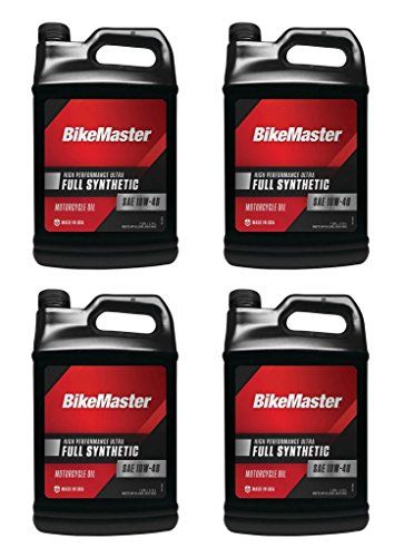 1 Case (4 Gallons) - Can-Am Motorcycle / Scooter 4-Stroke Full Synthetic 10w40 Engine Oil