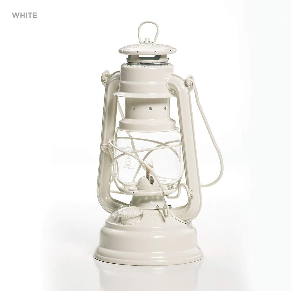 Galvanized Lantern - White