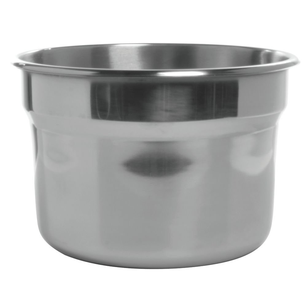 Replacement Liner For 10.5 Qt Kettle Warmer Stainless Steel - 12'' Dia x 7 7/8 H