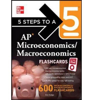 croeconomics/ Macroeconomics Flashcards for Your IPod with MP3 Disk (5 Steps to a 5 (Flashcards)) (Mixed media product) - Common ()