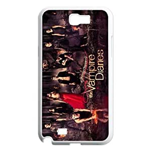FOR Samsung Galaxy Note 2 Case -(DXJ PHONE CASE)-TV Show The Vampire Diaries-PATTERN 12
