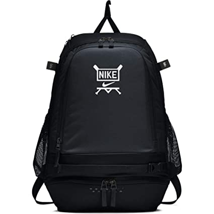 Amazon.com   Nike Vapor Select Baseball Backpack (Black White ... 85274e09b
