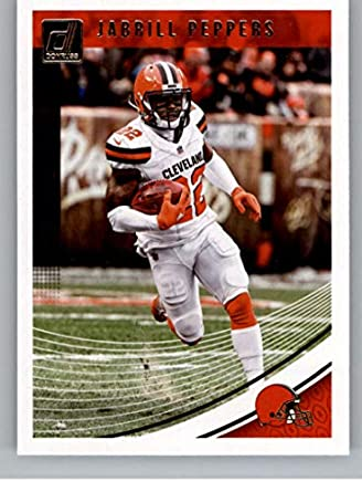 90a2d0eb5 2018 Donruss Football  66 Jabrill Peppers Cleveland Browns Official NFL  Trading Card