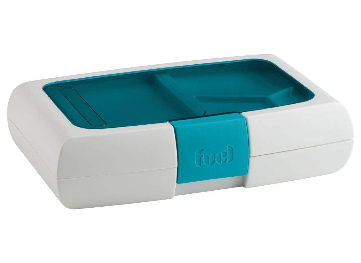 Food To Go Bento Box 10X6X2.5-Blue Trudeau Maison 31408329