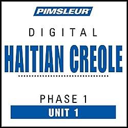 Haitian Creole Phase 1, Unit 01