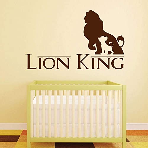 Wall stickers lion king simba and his father mufasa-choice size /& colour