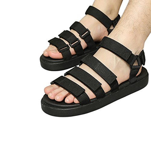 Sports Comfort Beach Anti Sandals Slippers Shoes Haodasi Classic Breathable skid Black Mens BSvxfWwq7Z