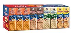 Lance Sandwich Crackers, Variety Pack, 3...