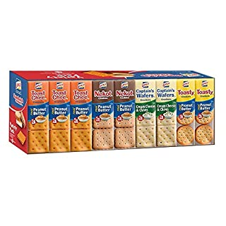 Lance Sandwich Crackers, Variety Pack, 36 Count