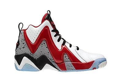 4ef0e313a51126 Reebok Kamikaze II Mid, Chaussures spécial basket-ball pour homme - Noir -  Noir