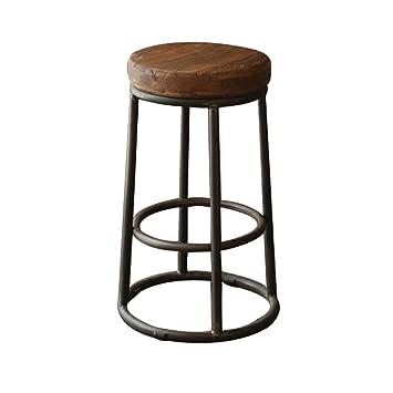 Superb Amazon Com Lqqgxl European Chair Wood Bar Chair Vintage Old Forskolin Free Trial Chair Design Images Forskolin Free Trialorg