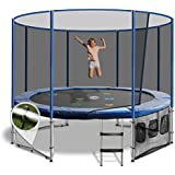12FT Round Summit Trampoline with 200kg Weight Capacity and Free Delivery.