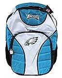 Philadelphia Eagles Official NFL Fear Gray/Teal Full Size Backpack (18in)