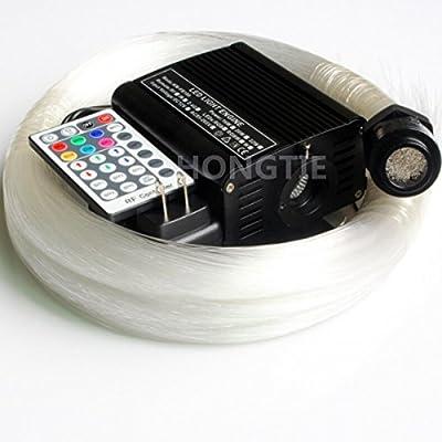 16W RGBW LED Fiber Optic Star Ceiling Light Kit optical fiber lighting +28Key remote controller 150pcs,300pcs 2m 0.75mm