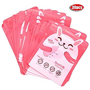 Bolsas de almacenamiento de leche materna, 30pcs / set 100 ...
