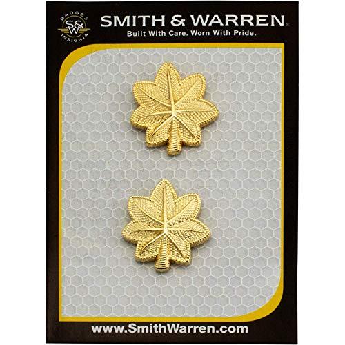 Smith & Warren Small Major Oak Leaf Embossed (Textured) Gold Finish ()
