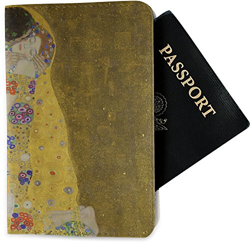 The Kiss - Lovers Passport Holder - Fabric by RNK Shops (Image #2)