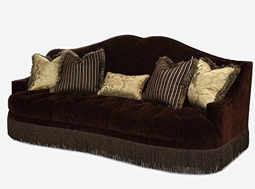 Michael Amini 79815-EGPLT-00 Imperial Court Upholstered Sofa