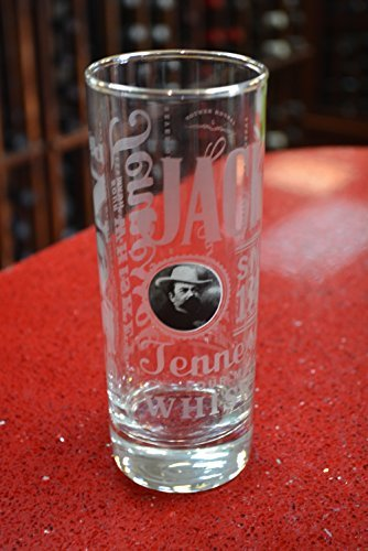 Jack Daniel's Tennessee Sour Mash Whiskey Highball Glass by Jack Daniel's