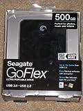 Seagate Goflex 500gb USB 2.0 + 3.0 Ultra External Portable Hard Drive