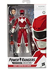 "Power Rangers Lightning Collection 6"" Mighty Morphin Red Ranger Collectible Action Figure Toy with Accessories"