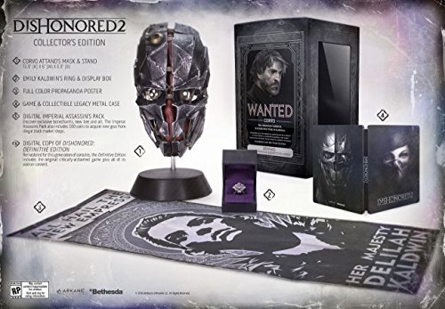 Dishonored 2 Premium Collector's Edition - Xbox One -