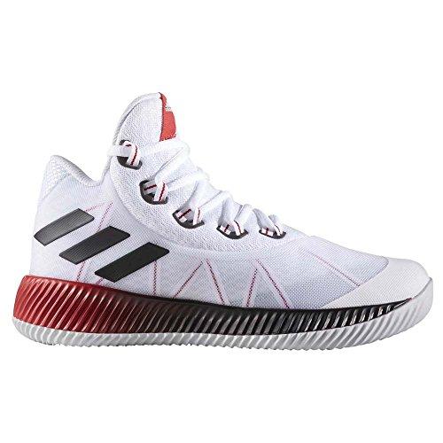 Adidas Herren Energy Bounce Bb Turnschuhe, Elfenbein (Ftwbla/Reflec/Escarl), 46 EU