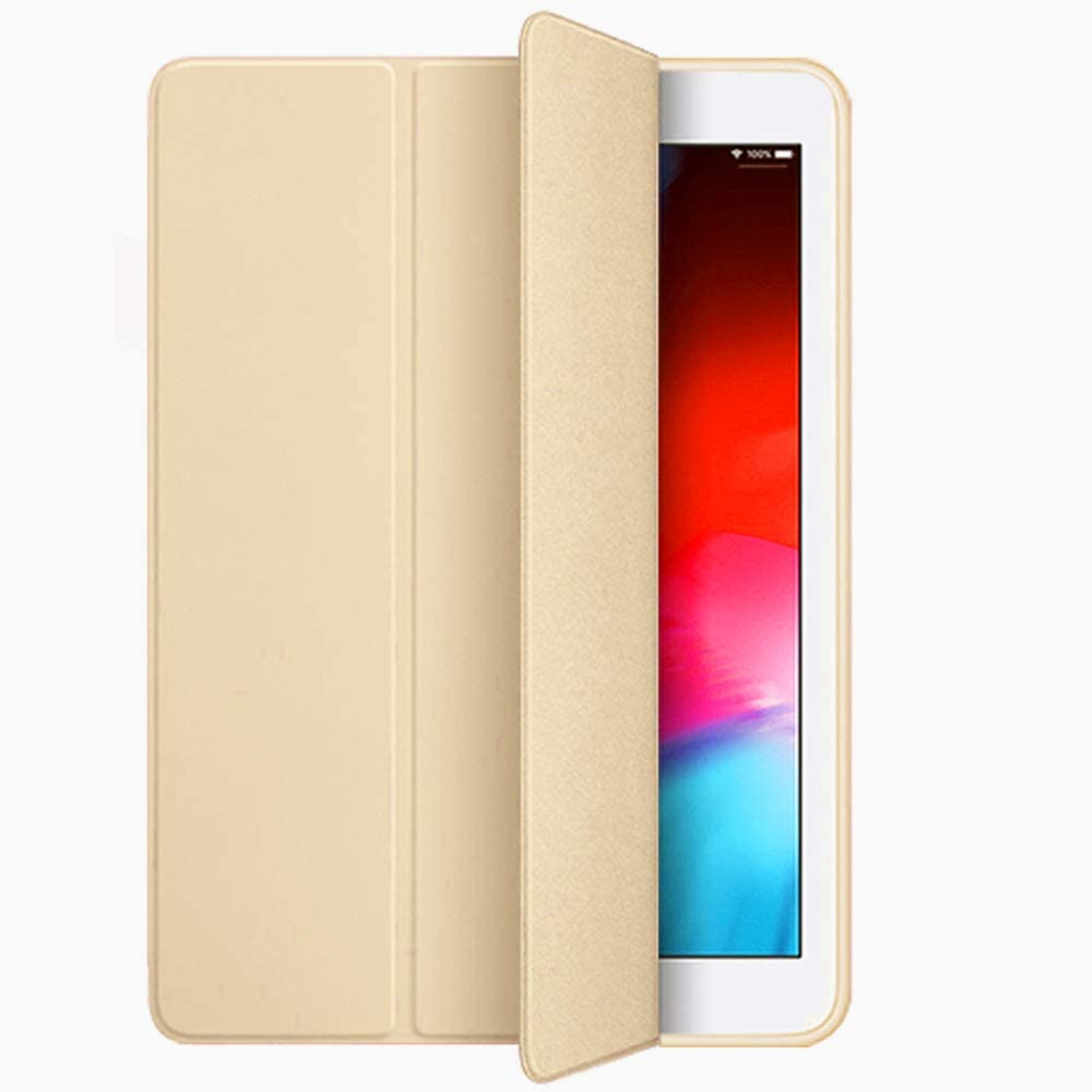 iPad Mini 4 case, Weight Auto Wake/Sleep for Apple iPad Mini 4th Generation Model A1538/A1550 Retina Display-(iPad Mini 4 case, Gold)