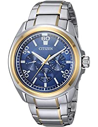 Men's Quartz Stainless Steel Casual Watch, Color:Two Tone (Model: BU2064-58L)