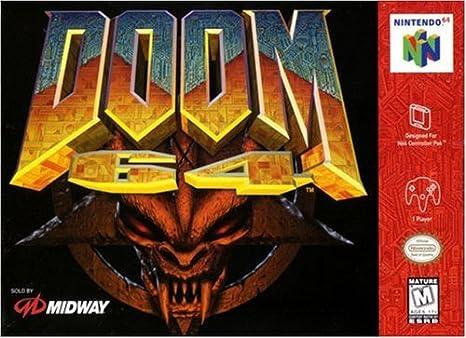 DOOM 64 - Pal Version [Nintendo 64] [Importación Italiana]: Amazon ...