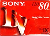 Sony Mini DV Digital Video Cassette 120 LP 80