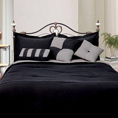 LCM Home Fashions Microfiber Comforter Set, California Ki...