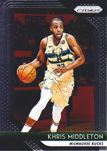 2018-19 Panini Prizm Basketball #286 Khris Middleton Milwaukee Bucks