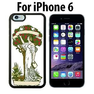 Apple Tree Eve Custom Case/ Cover/Skin *NEW* Case for Apple iPhone 6 - Black - Plastic Case (Ships from CA) Custom Protective Case , Design Case-ATT Verizon T-mobile Sprint ,Friendly Packaging - Slim Case