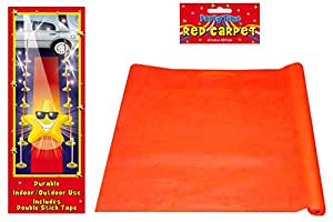 Alfombra Roja - Rollo de Tejido Duradero (4.5m)