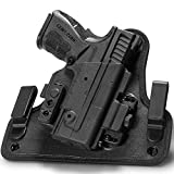 Alien Gear ShapeShift 4.0 IWB Holster for Concealed Carry - Custom fit to Your Gun (Select Pistol Size) - Right or Left Hand - Full Cant and Ride Height Adjustable - Made in The USA