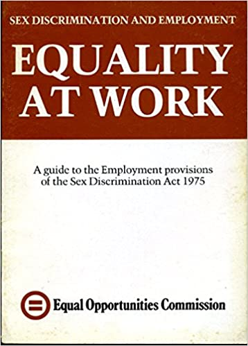 Sexual discrimination act 1975