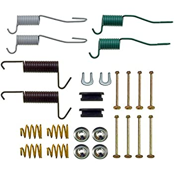 Drum Brake Hardware Kit Rear,Front Dorman HW7146