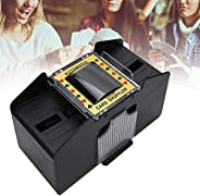 Automatic Card Shuffler - Portable Battery Powered Card Shuffler 4 Deck- Playing Card Shuffler Machine for 1 t