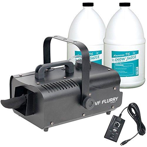 ADJ American DJ VF Flurry Snow Machine with 2 Gallons of Fluid