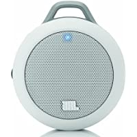 JBL Micro II Ultra-Portable Multimedia Speaker (White)-Wired